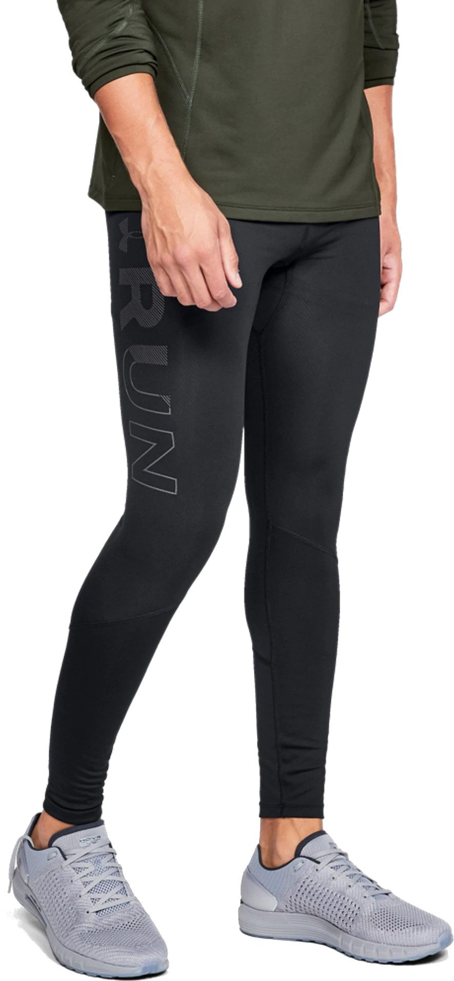 Nohavice Under Armour Reactor Run Graphic Tight