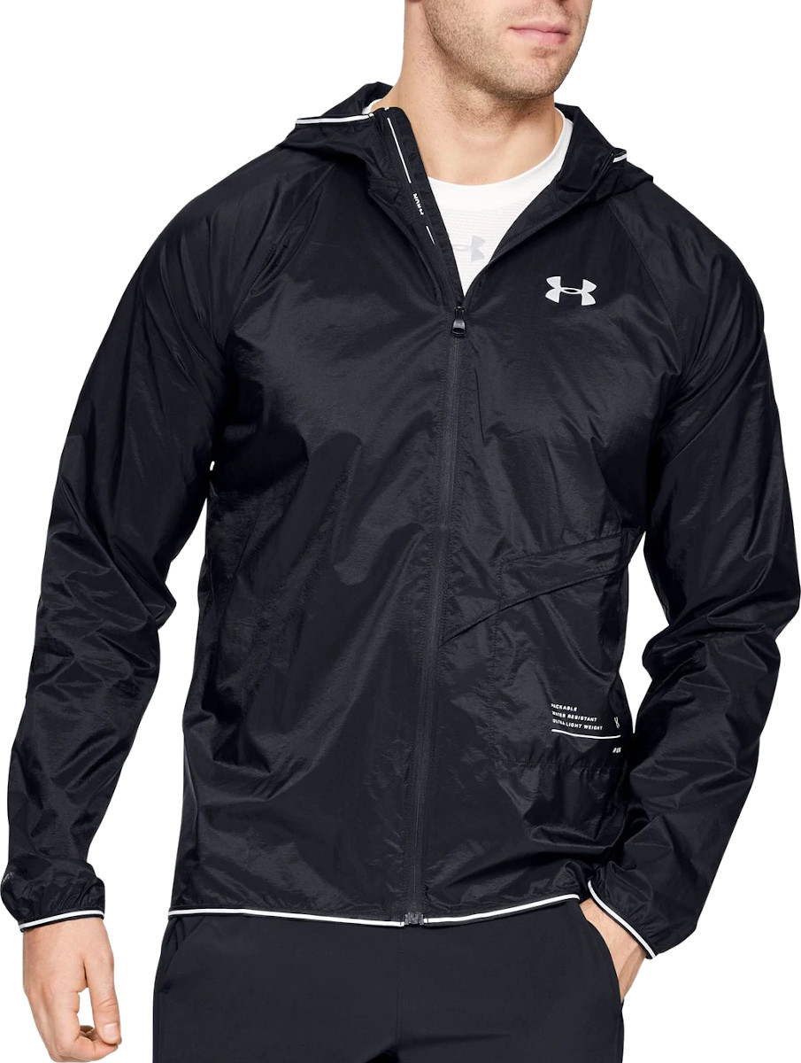 Bunda s kapucňou Under Armour UA QUALIFIER STORM PACKABLE JACKET
