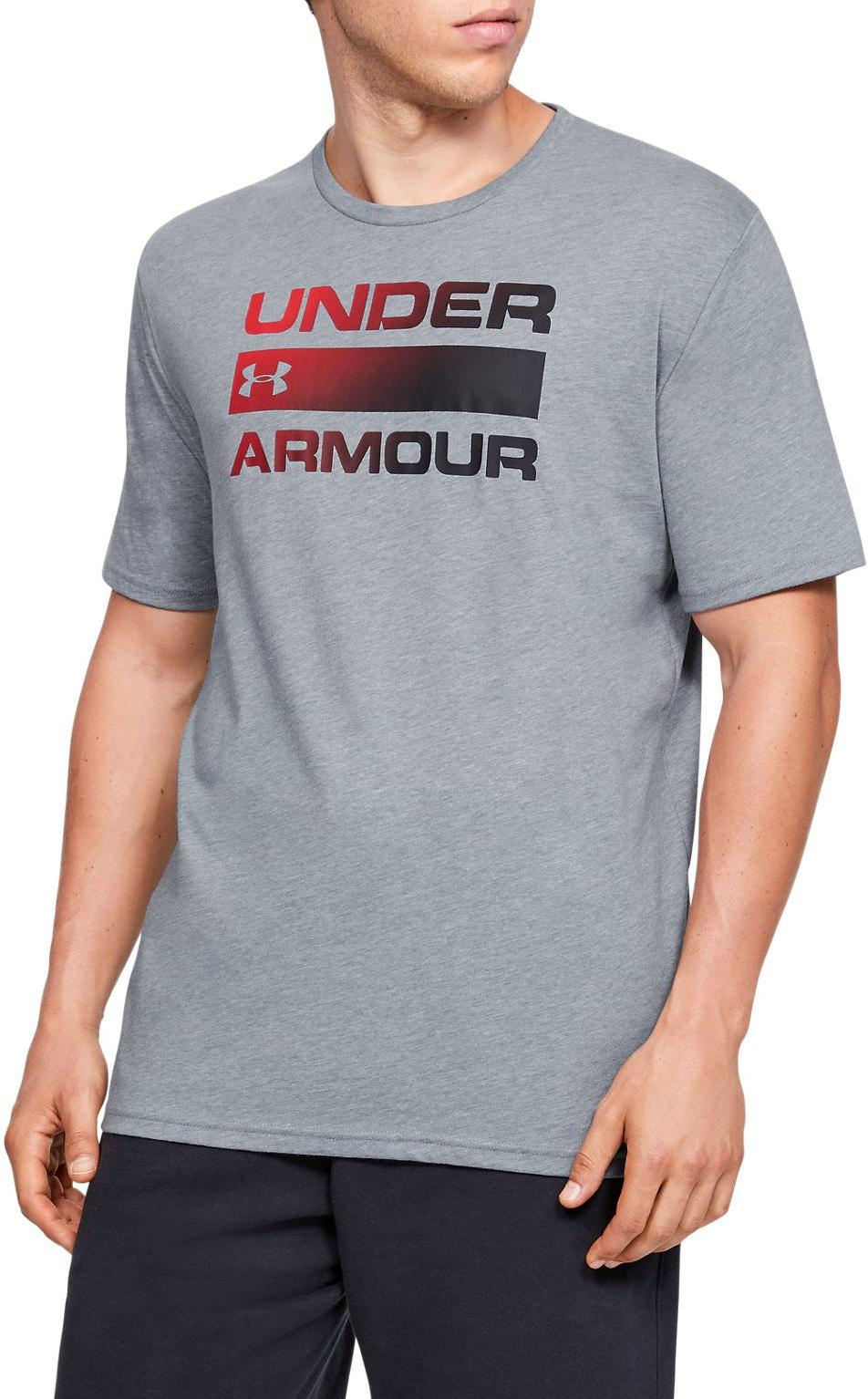Tričko Under Armour UA TEAM ISSUE WORDMARK SS