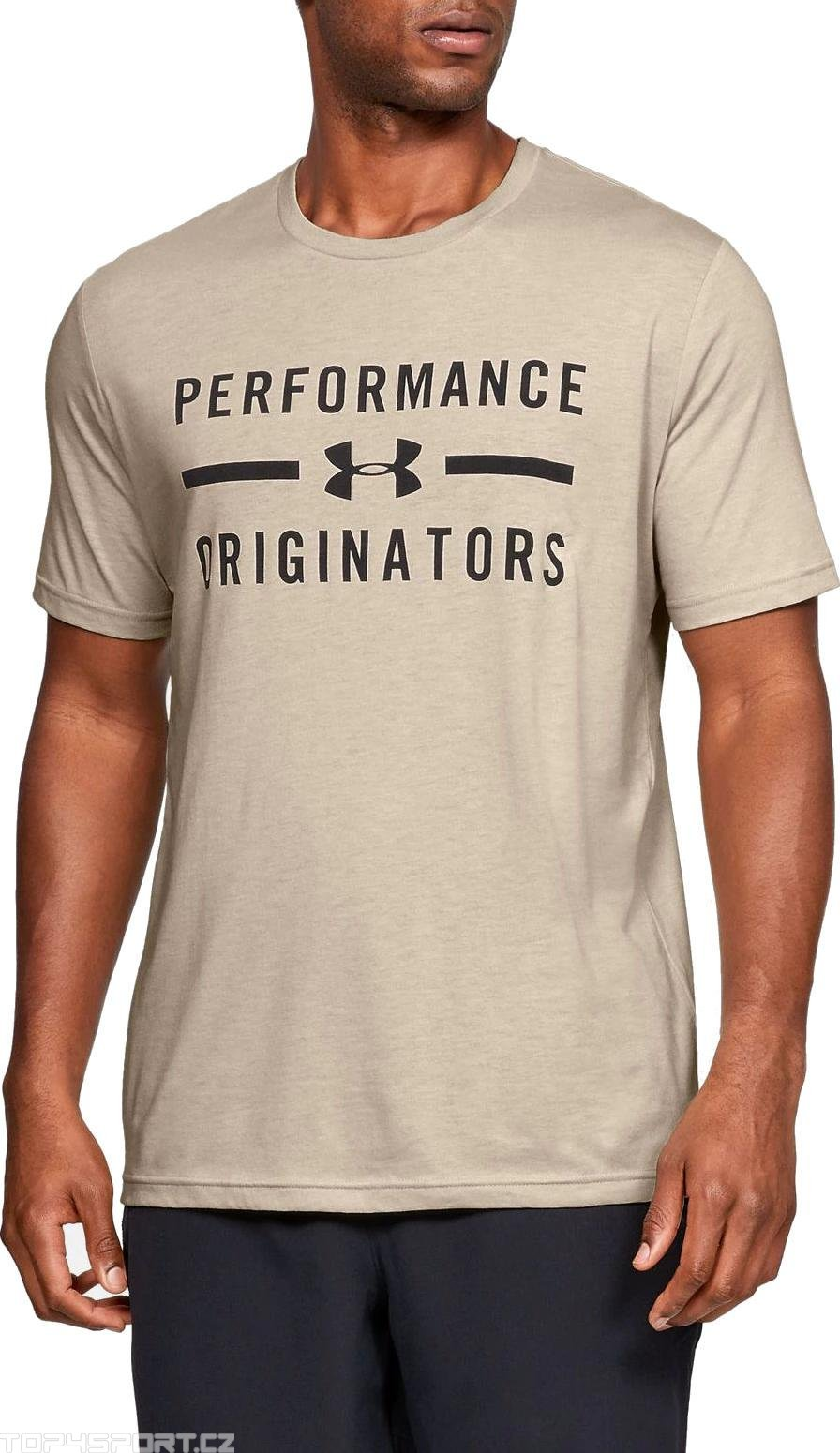 Tričko Under Armour UA PERFORMANCE ORIGINATORS SS-BRN