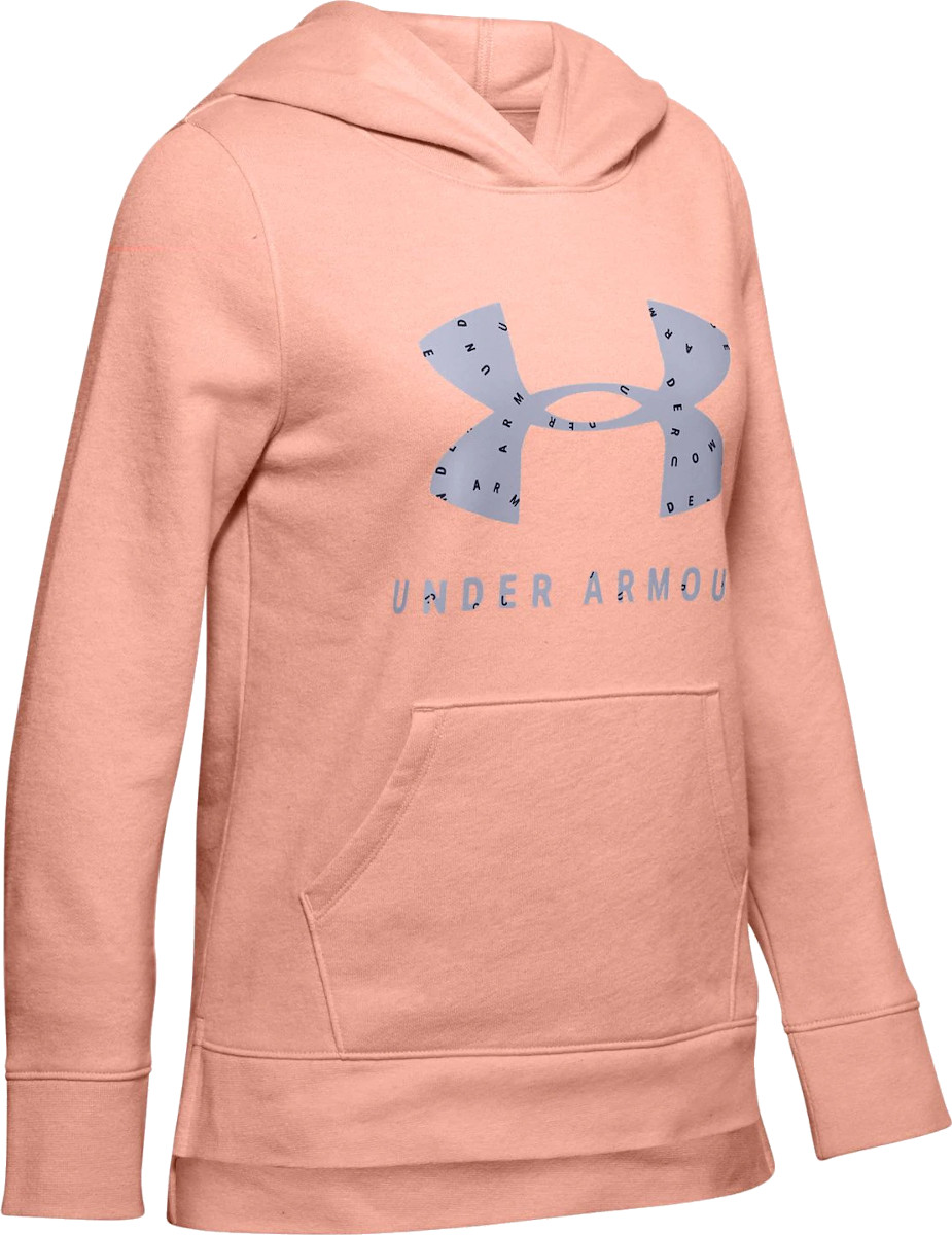 Mikina s kapucňou Under Armour Rival Print Fill Logo Hoodie
