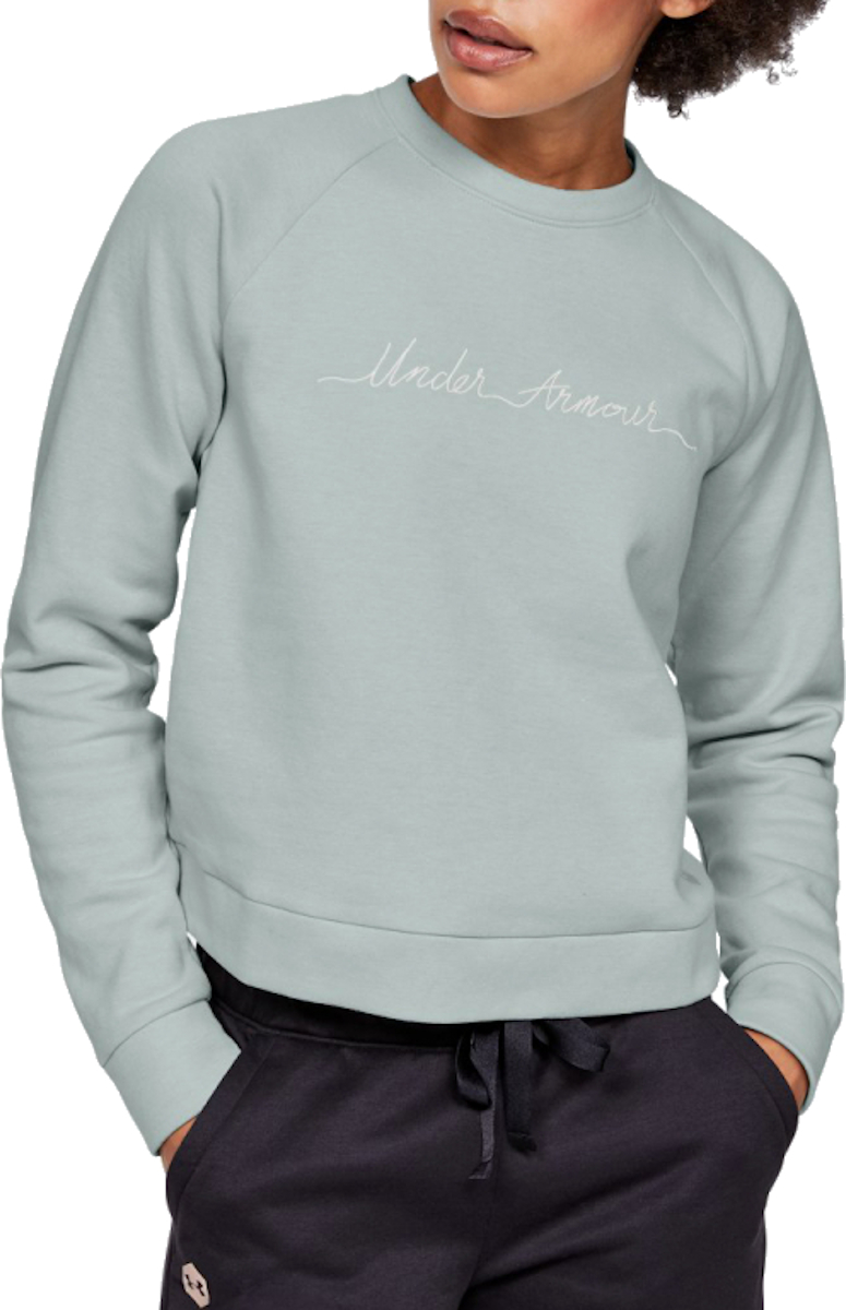 Mikina Under Armour RECOVERY FLEECE SCRIPT CREW