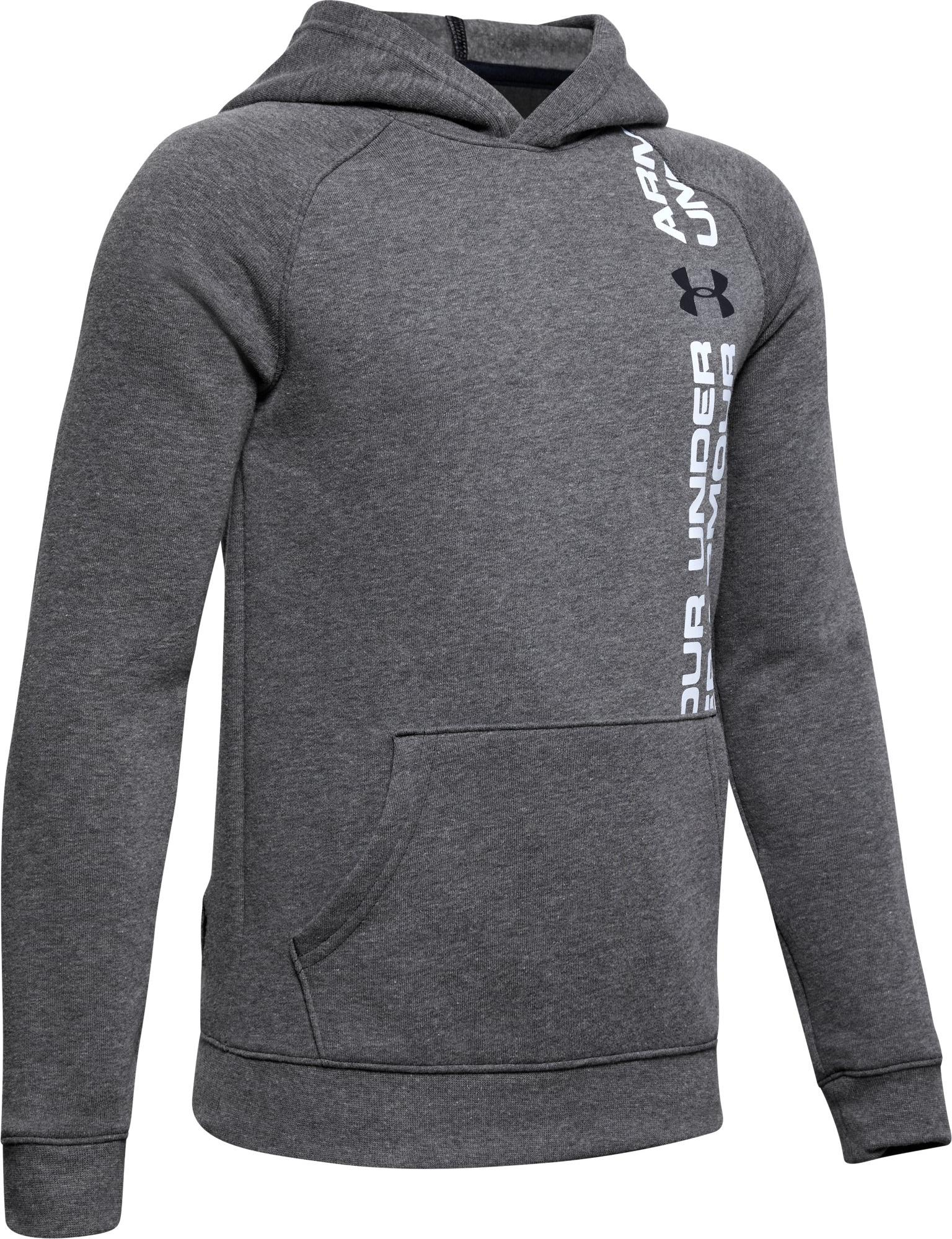Mikina s kapucňou Under Armour Rival Wordmark Hoody Y