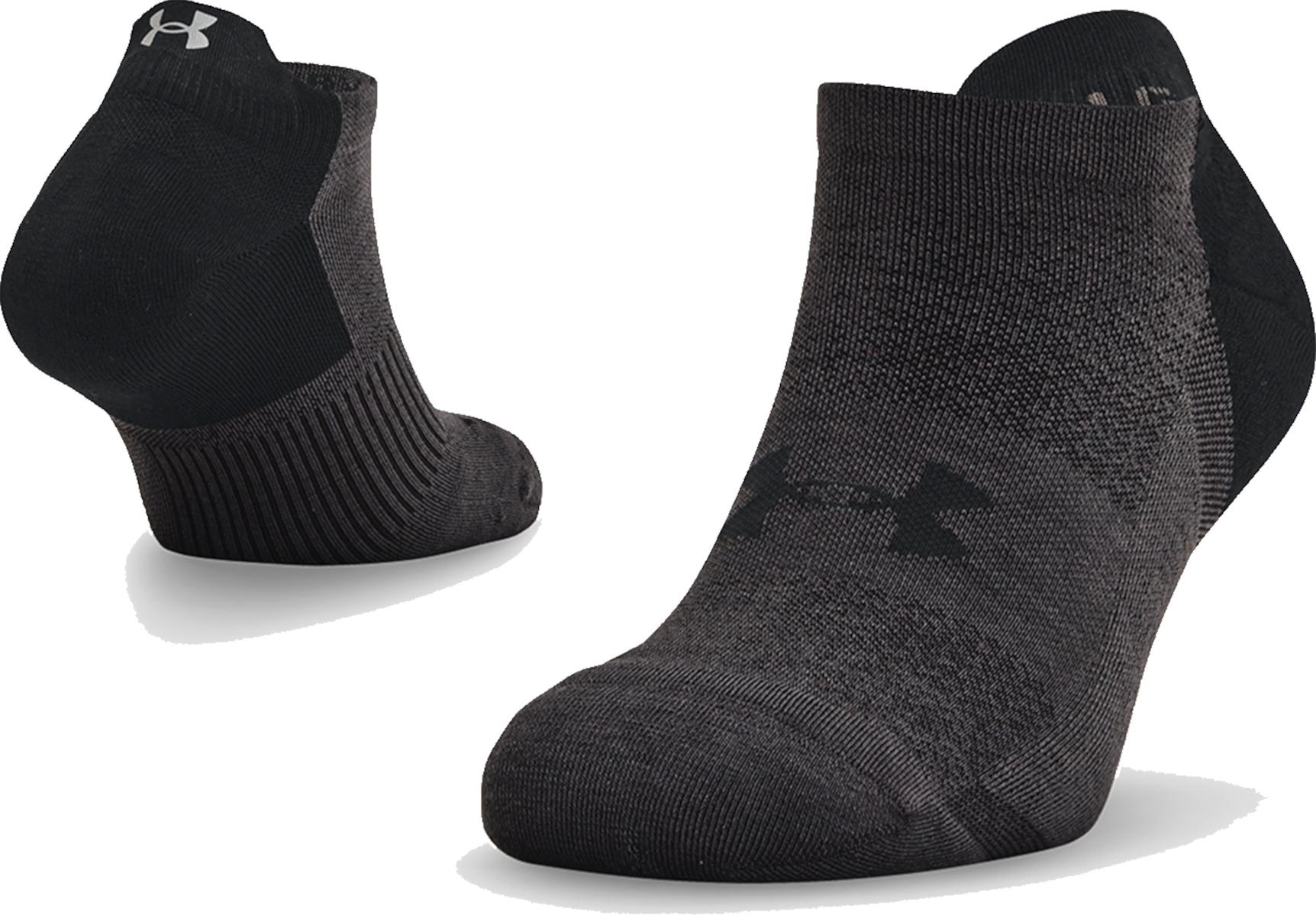 Ponožky Under Armour UA ArmourDry Run No Show-BLK
