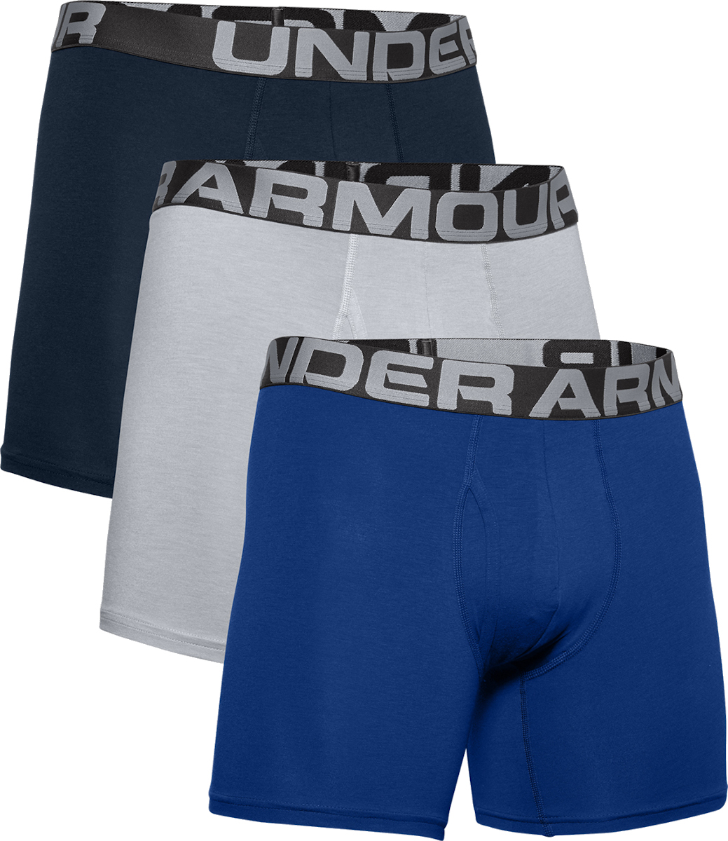 Boxerky Under Armour Charged Boxer 6in 3er Pack