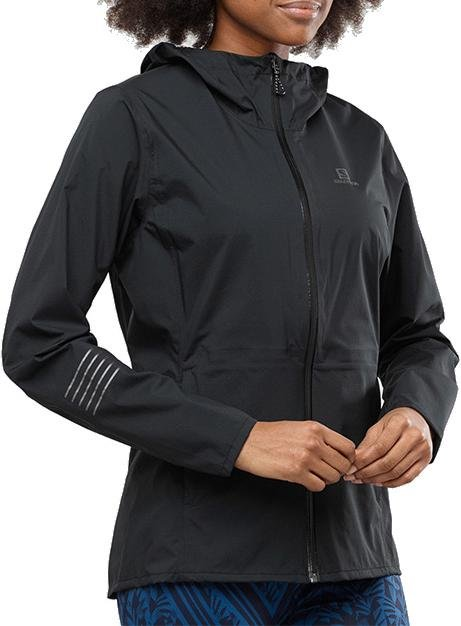 Bunda s kapucňou Salomon LIGHTNING WP JKT W